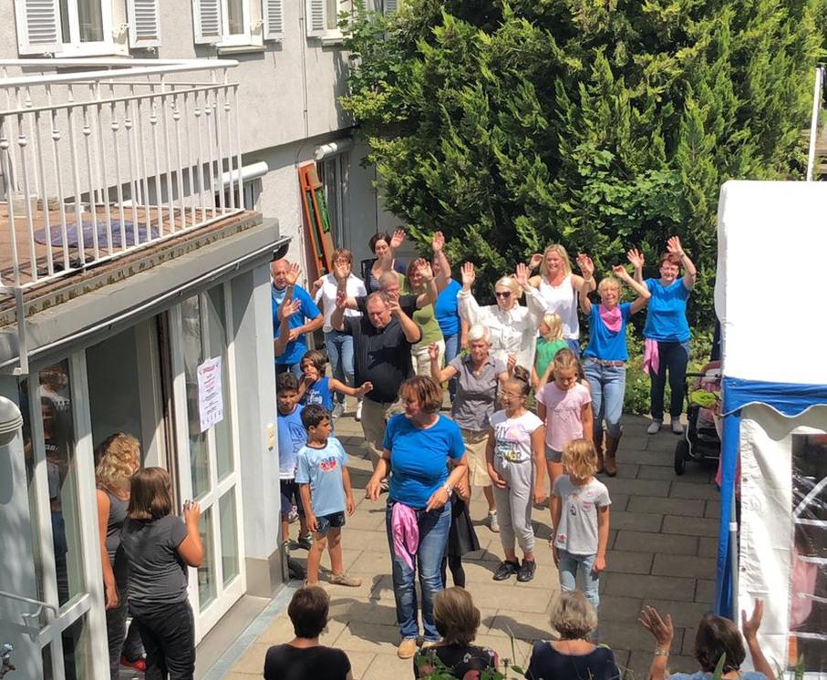 Sommerfest 2019 - Linedance für alle