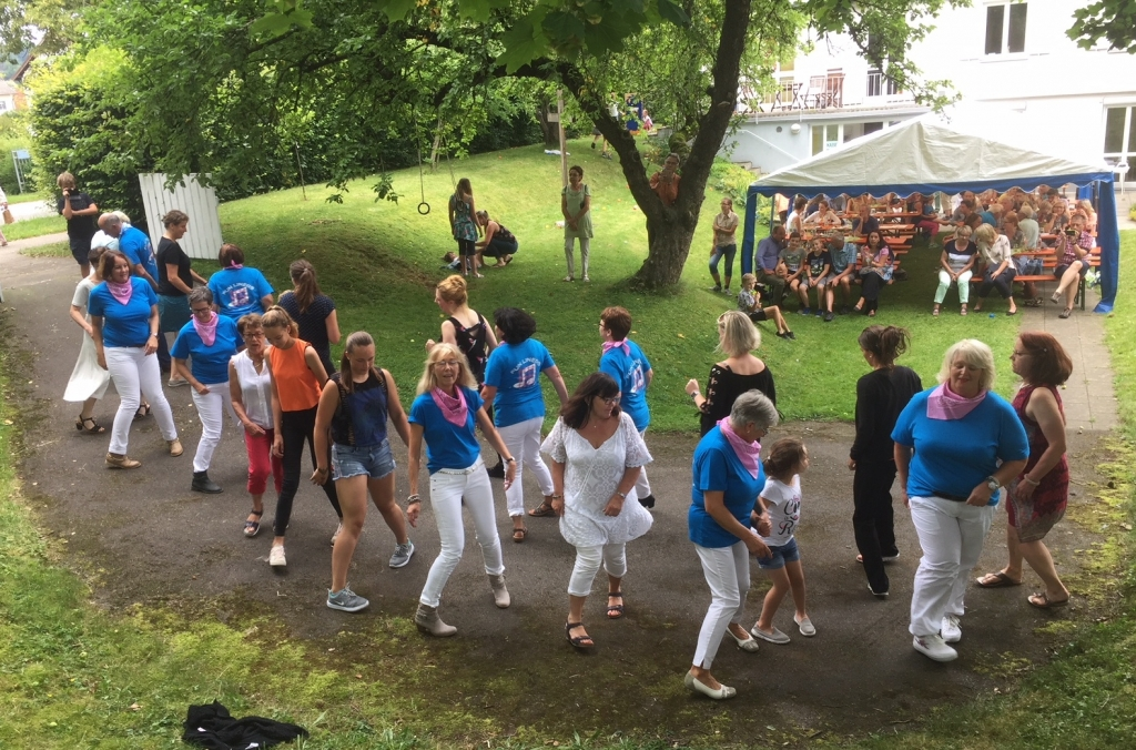 Sommerfest 2018: Linedance für alle